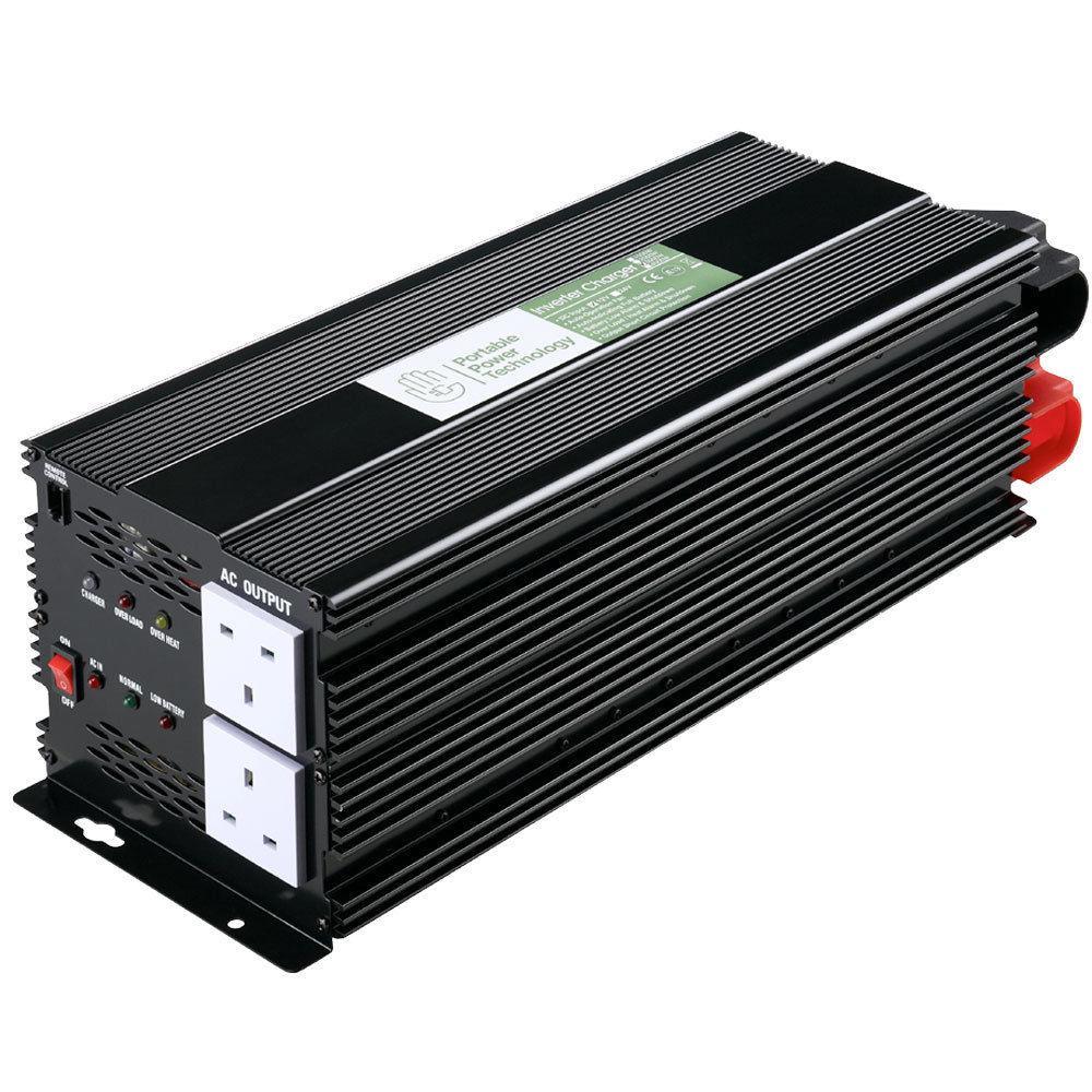 Power Inverter 3000W/6000W Modified Sine Wave 12V -240V Watt Camper Invertor Van