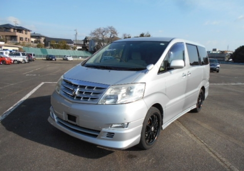 2006 TOYOTA ALPHARD new arrival in UK