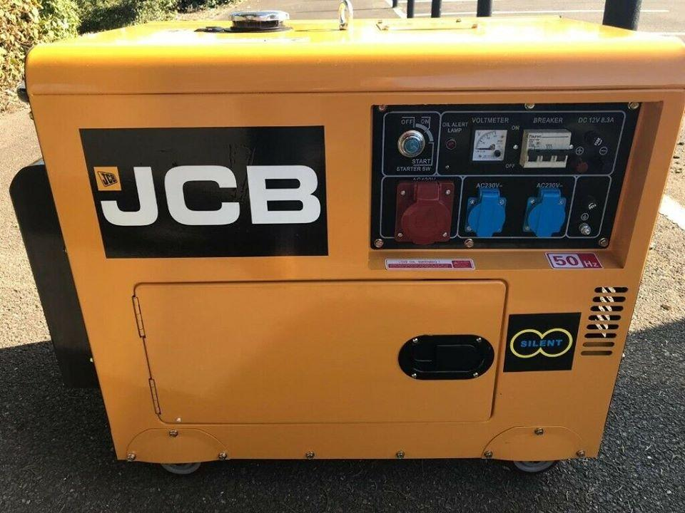 BRAND NEW 25.5KVA THREE PHASE JCB DIESEL GENERATOR for sale in Lagos Nigeria