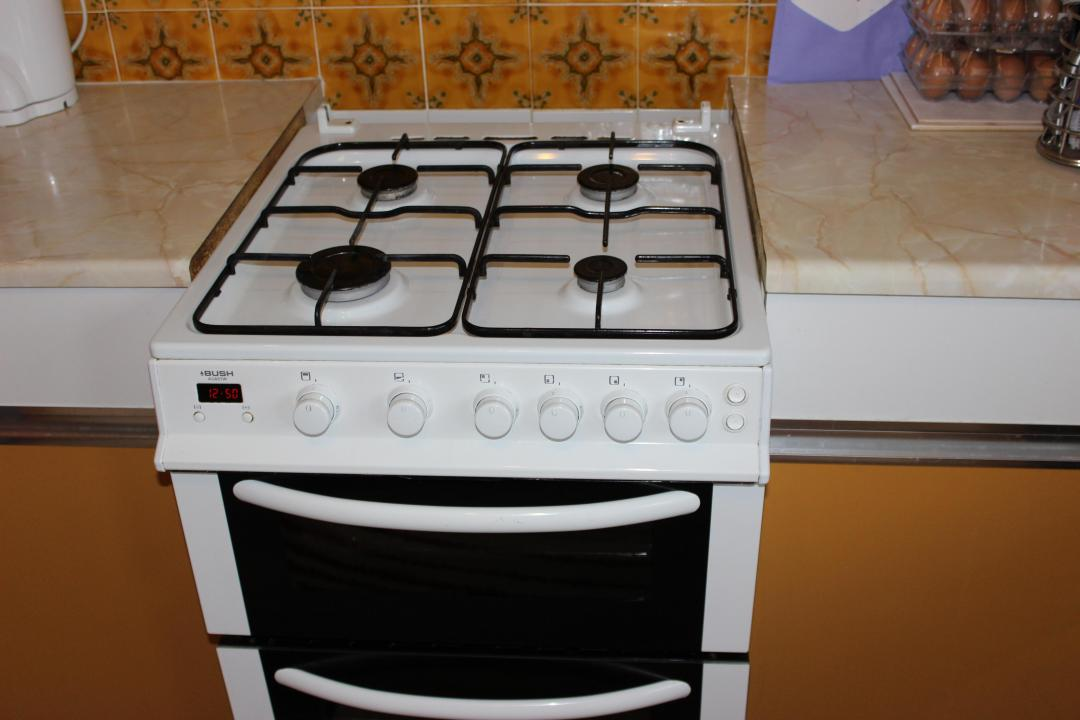 Bush Gas Cooker AG66TW (Used)