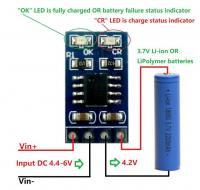 MPPT Solar Controller 3.7V 4.2V 1A 5V 18650 Lithium-ion Battery Charger Module-4_9101851660-thumb