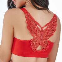 Butterfly Embroidery Front Closure Wireless Adjustable Gather Soft Bras for sale in Nigeria-butterfly-bras_1246456775-thumb
