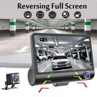 4  Car DVR Front and Rearview Video Dual Lens HD 1080P Dash Cam Recorder Camera G-sensor For Sale in Nigeria-dash-cam-recorder-camera-g-sensor--thumb