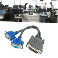 Dual Monitor Splitter Cable - DMS-59 Pin Male...