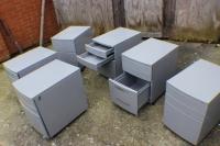 Used Metal cupboard on wheels 40*57*57 cm-metal_cupboard_on_wheels___martfame_102_7252370226-thumb
