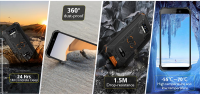 OUKITEL WP5 4G Rugged Smartphone 8000mAh Battery 5.5 Inch 3 Rear Camera Android 9.0 3GB RAM 32GB - Sales In Nigeria-oukitel-wp5-4g-smartphone-8000mah-battery-5.5-inch-3-rear-camera-android-9.0-3gb-ram-32gb-_41887_7166160080-thumb