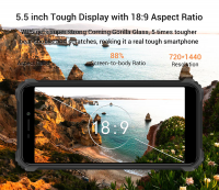 OUKITEL WP5 4G Rugged Smartphone 8000mAh Battery 5.5 Inch 3 Rear Camera Android 9.0 3GB RAM 32GB - Sales In Nigeria-oukitel-wp5-4g-smartphone-8000mah-battery-5.5-inch-3-rear-camera-android-9.0-3gb-ram-32gb-_98231-thumb