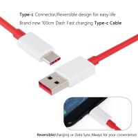 Original Dash OnePlus Type-C USB High Speed Data Charger Lead Cable 3 3T 5 5T 6-s-l1600-thumb