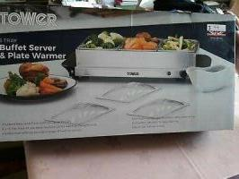 Tower Three Tray Buffet Server and Plate Warmer For sale in Nigeria-tower-stainless-steels-thumb