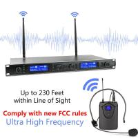 XTUGA Wireless Microphones System EW240 PLUS 4 Channel 2 Handheld 2 Bodypack Mic for sale in Nigeria-xtuga-wireless-microphones-system-ew240-plus-4-channel-2-handheld-2-bodypack-mic-for-sale-in-nigeria-l1600ou-thumb