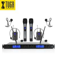 XTUGA Wireless Microphones System EW240 PLUS 4 Channel 2 Handheld 2 Bodypack Mic for sale in Nigeria-xtuga-wireless-microphones-system-ew240-plus-4-channel-2-handheld-2-bodypack-mic-for-sale-in-nigeria1-thumb