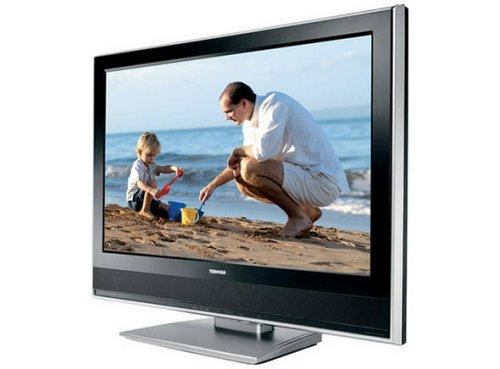 "Toshiba 32WLT66 32"" Widescreen Pictureframe HD Ready LCD TV - With Freeview- Black"