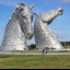The Kelpies The Helix Falkirk Scotland