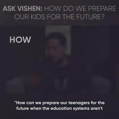 How to prepare kids for the future?
